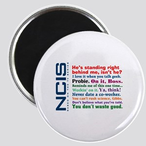 NCIS Quotes Magnet