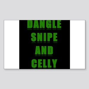 Dangle Snipe and Celly Sticker (Rectangle)