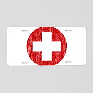 Switzerland Roundel Aluminum License Plate