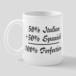 Half Italian, Half Spanish Mug