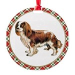 Cavalier King Charles Spaniel Round Ornament