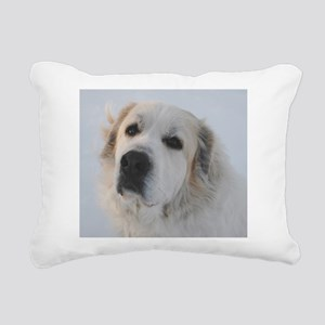 Great Pyrenees Rectangular Canvas Pillow