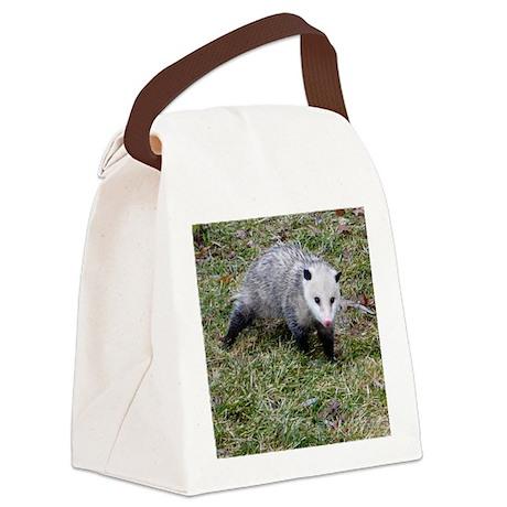 Opossum Canvas Lunch Bag