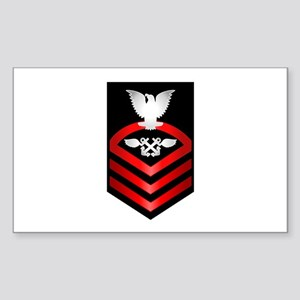 Navy Chief Aviation Boatswain's Mate Sticker (Rect
