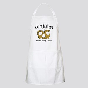 Pretzel Eating Contest BBQ Apron