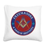 The Band of Brothers Square Canvas Pillow