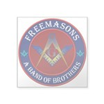 "The Band of Brothers Square Sticker 3"" x 3&qu"