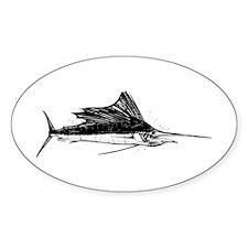 Sailfish Sticker (Oval)