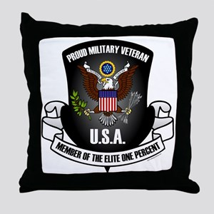 Elite One Percent Throw Pillow
