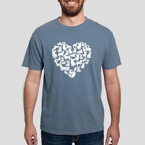 Pembroke Welsh Corgi Hea Mens Comfort Colors Shirt
