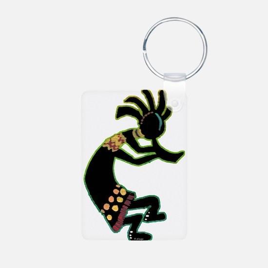 Dancing Kokopelli-glo Keychains