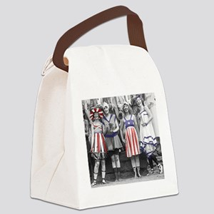 Bathing Beauties Canvas Lunch Bag