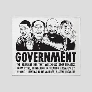 Government Lunatics Throw Blanket
