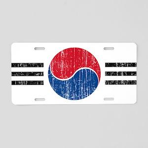 South Korea Roundel Aluminum License Plate