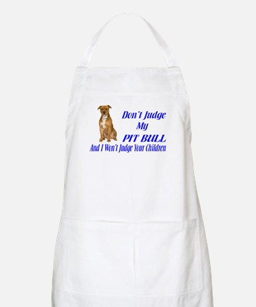 PITBULL JUDGEMENT Apron