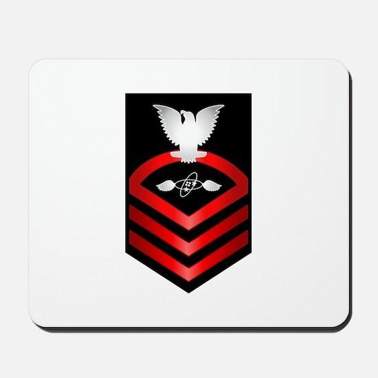 Navy Chief Aviation Electronics Tech Mousepad
