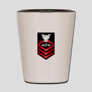 Navy Chief Aviation Electronics Tech Shot Glass
