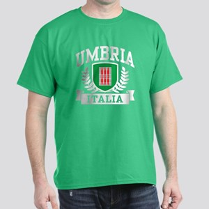 Umbria Italia Coat of Arms Dark T-Shirt