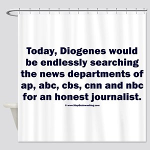Diogenes Today Shower Curtain