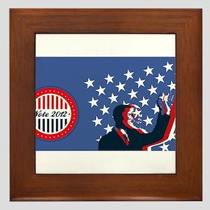 Barack Obama for America 2012 Framed Tile