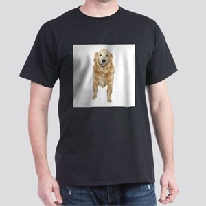 Terries Golden Retriever Black T-Shirt