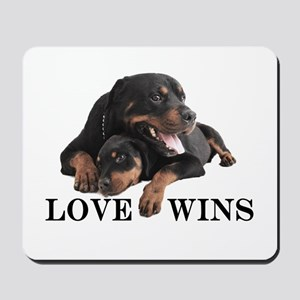 Rottie Mousepad