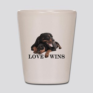 Rottie Shot Glass