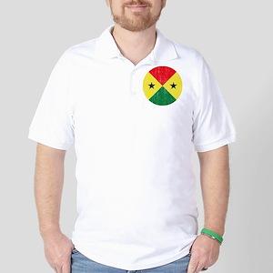 Sao Tome Principe Roundel Golf Shirt