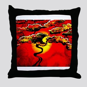Bonzai Throw Pillow