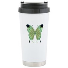 Viable Butterfly Stainless Steel Travel Mug