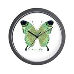 Viable Butterfly Wall Clock