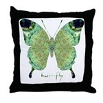 Viable Butterfly Throw Pillow