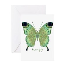 Viable Butterfly Greeting Card