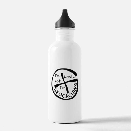 Im Not Lost...Im Geocaching Water Bottle