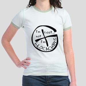 Im Not Lost...Im Geocaching Jr. Ringer T-Shirt