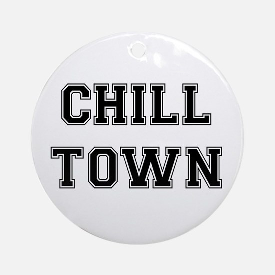 Chill Town Ornament (Round)