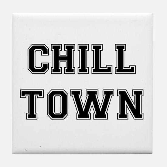 Chill Town Tile Coaster