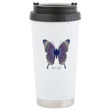 Insomnia Butterfly Stainless Steel Travel Mug
