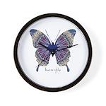 Insomnia Butterfly Wall Clock