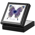 Insomnia Butterfly Keepsake Box