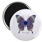 Insomnia Butterfly Magnet
