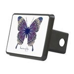 Insomnia Butterfly Rectangular Hitch Cover