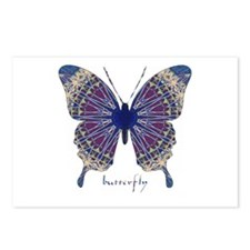 Insomnia Butterfly Postcards (Package of 8)