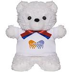 Art in Clay / Heart / Hands Teddy Bear