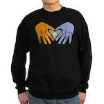 Art in Clay / Heart / Hands Sweatshirt (dark)