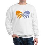 Art in Clay / Heart / Hands Sweatshirt