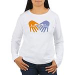 Art in Clay / Heart / Hands Women's Long Sleeve T-
