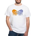 Art in Clay / Heart / Hands White T-Shirt
