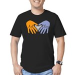 Art in Clay / Heart / Hands Men's Fitted T-Shirt (