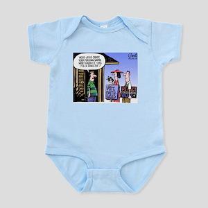 Religion Politics Infant Bodysuit